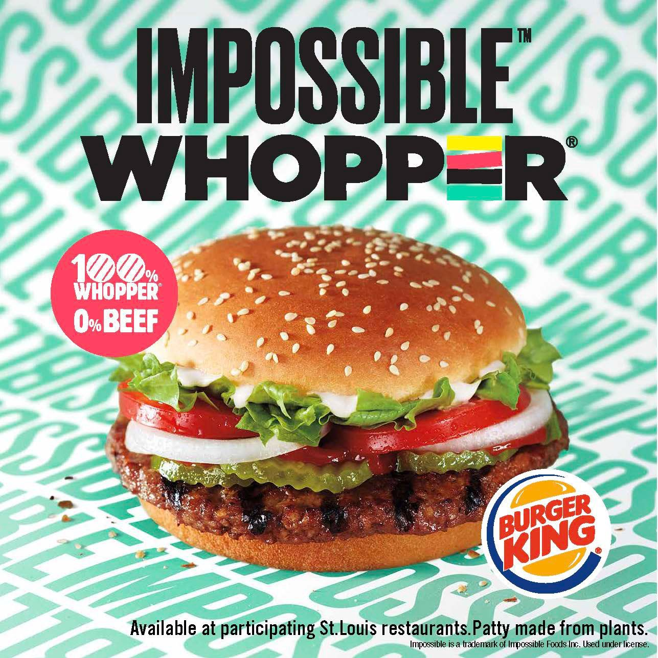 Burger King Is Offering The Meatless Impossible Whopper After First Tricking People Into Thinking It S Real Beef Impossible Burger Vegan Fast Food Burger