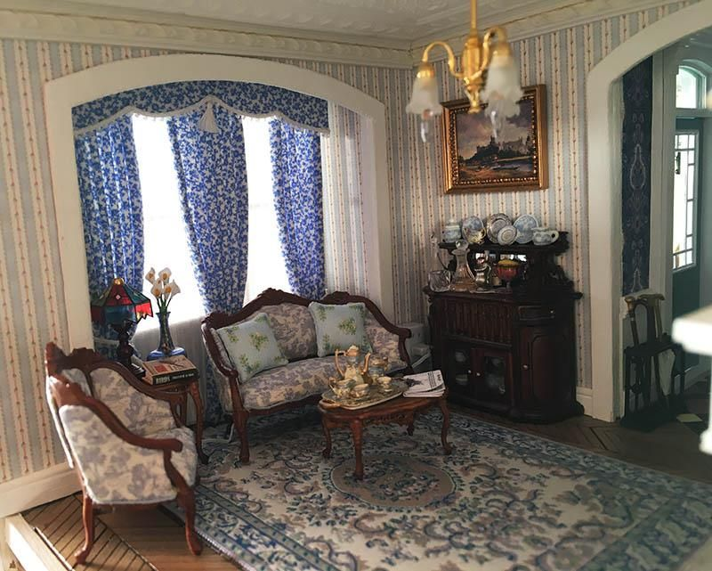 Fairfield Dollhouse 1 24 Scale Living Room Dolls House Interiors Miniature Rooms Furniture