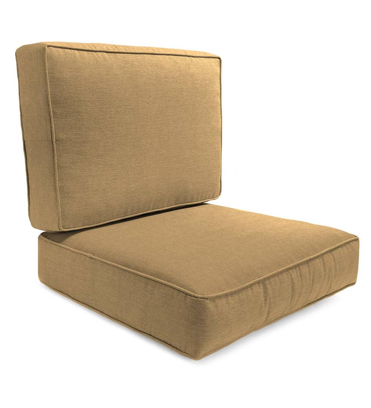 Box Edge Polyester Replacement Chair Cushion Claremont Seating Replacement Chair Cushions Outdoor Furniture Cushions Chair Cushions