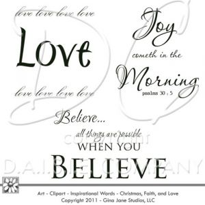 Love one another, digital stamps, bible verses, Joy cometh