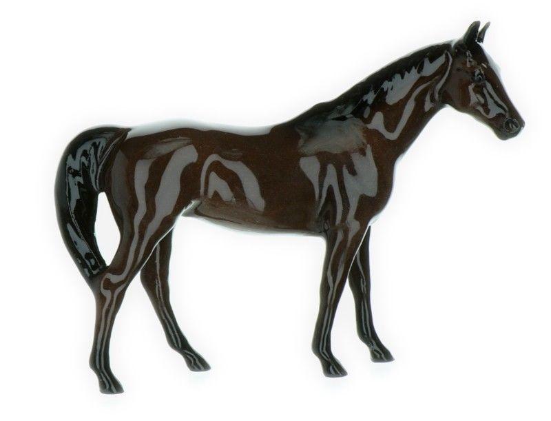 Beautiful Hagen Renaker Famous Racehorse Native Dancer