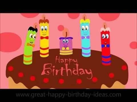 Happy Birthday Youtube Happy Birthday Video Happy Birthday Funny Funny Happy Birthday Wishes