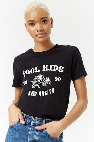 845bd43bb Women's Graphic Tees | Band Tees, Tour Tees & More | Forever 21 ...
