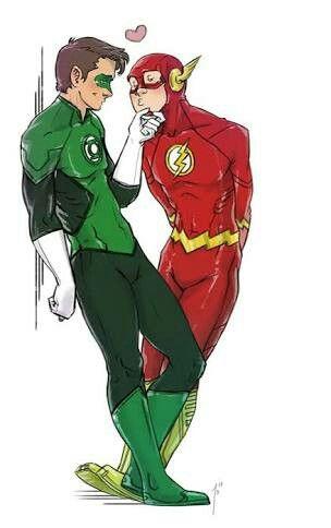 spiderman flash Gay