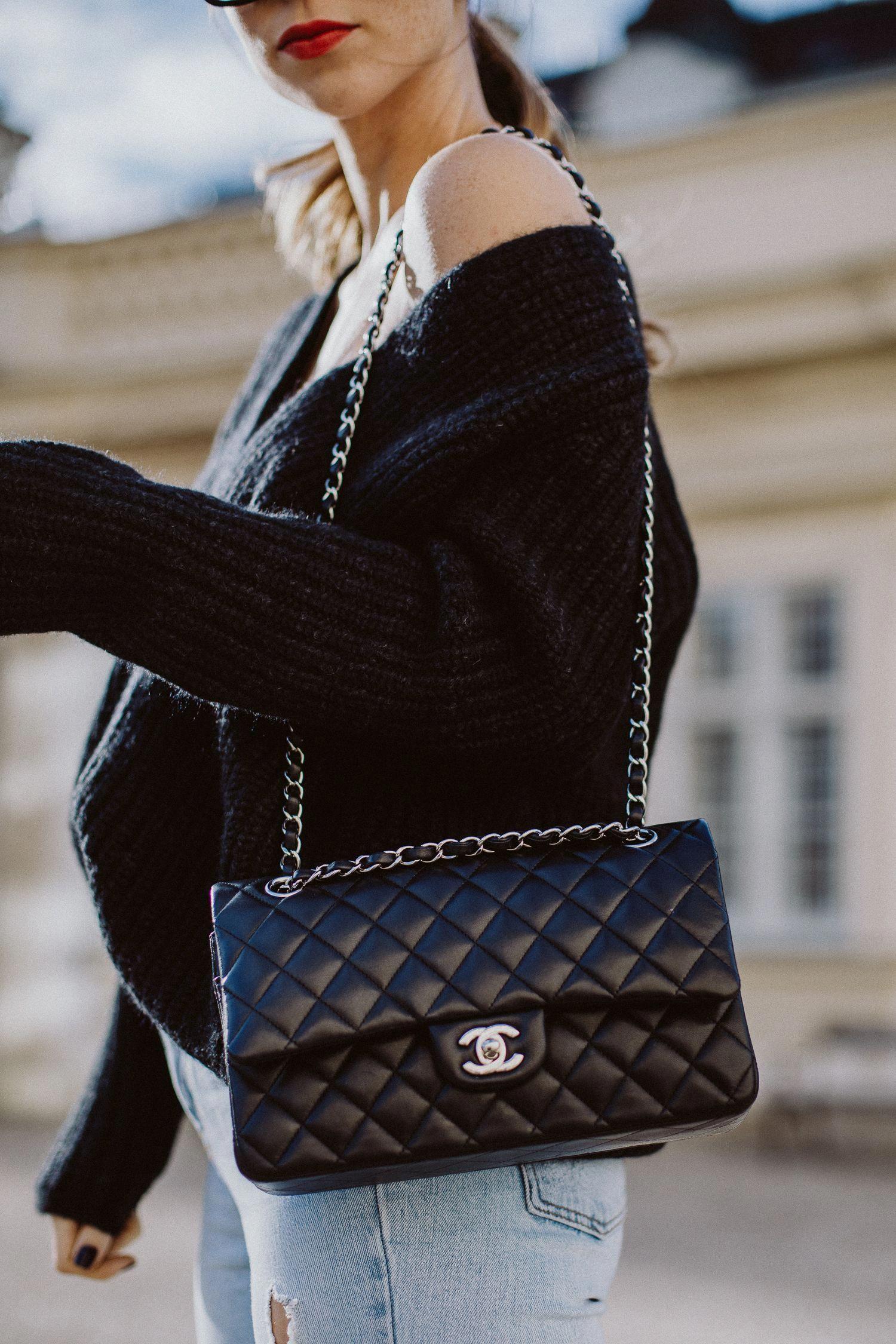 Outfit Chanel Classic Flap Bag Medium Lambskin S Passports Chanelhandbags