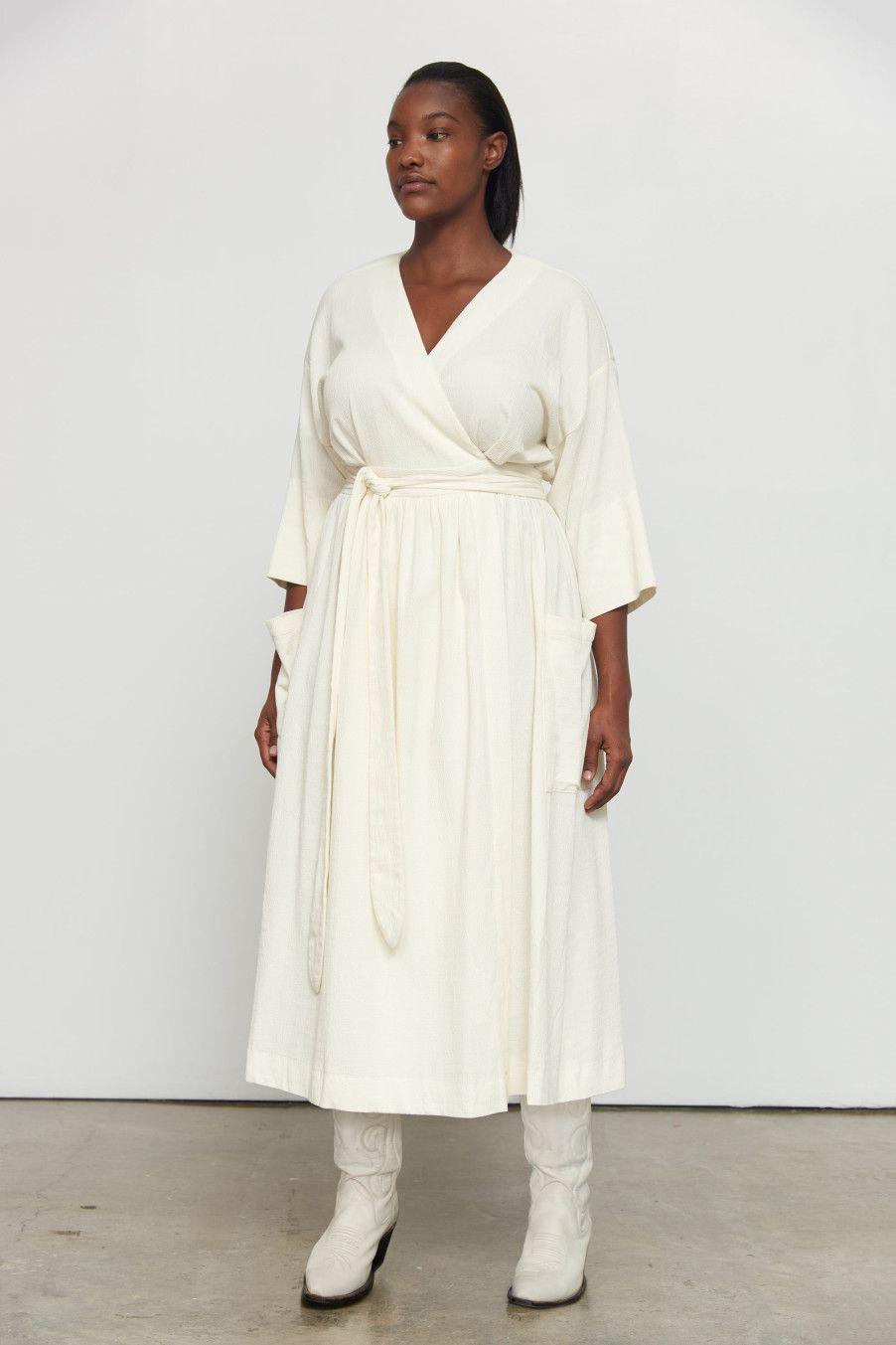 4122b6a7dca Mara Hoffman anya-extended-size-midi-wrap-dress-cream.