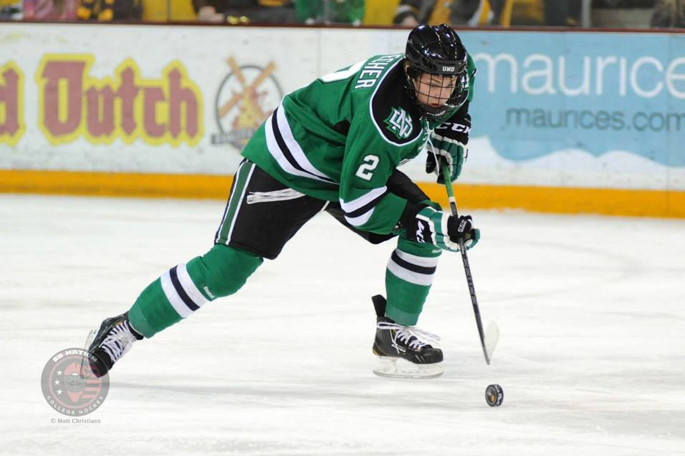 Troy Stecher Signs with Vancouver Canucks - SB Nation College Hockey