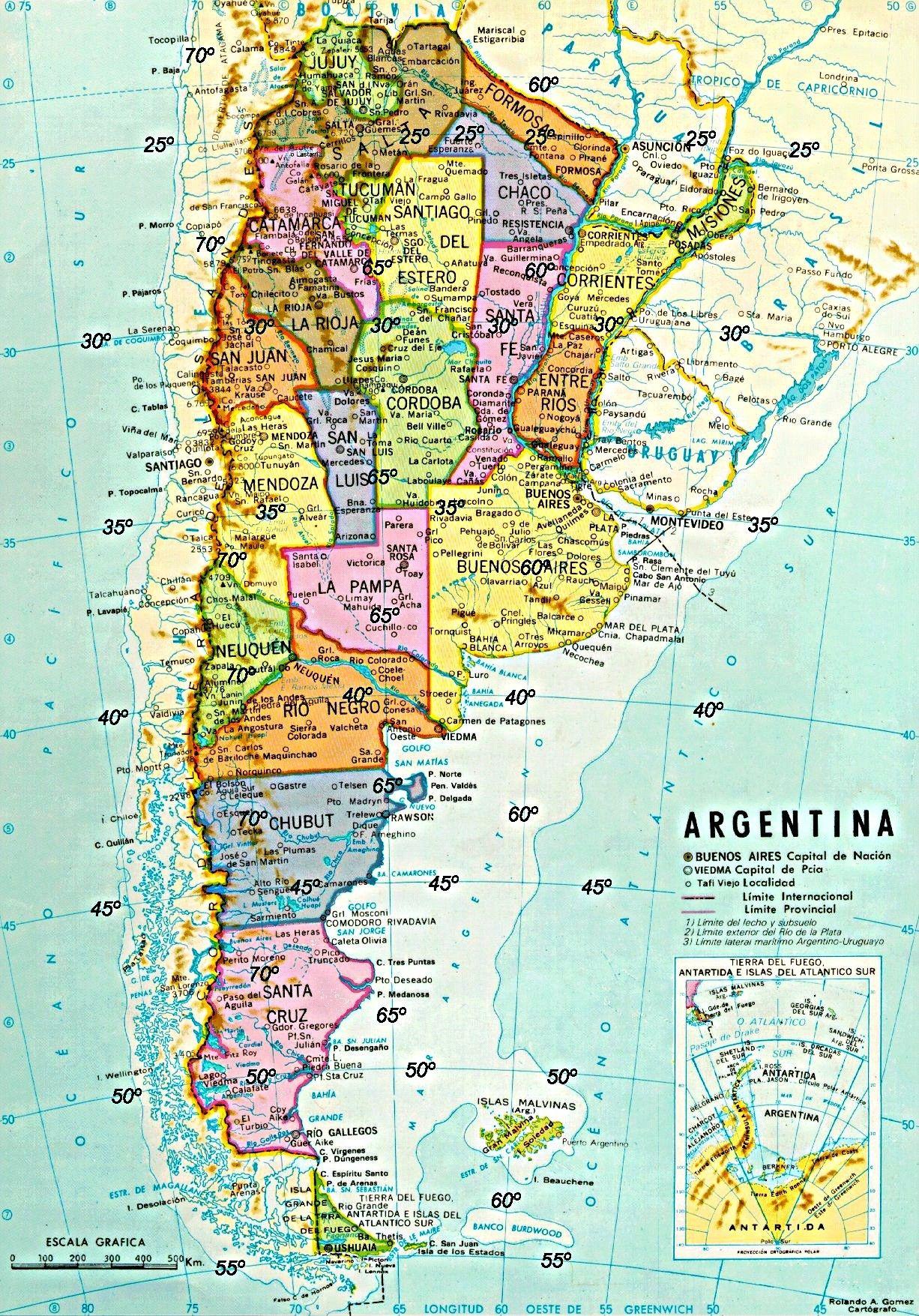 mapa de argentina   Buscar con Google | Paises | Pinterest | Argentina