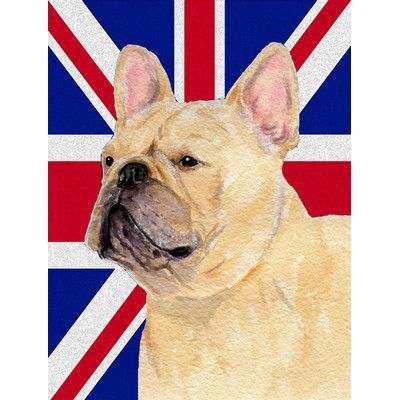Caroline S Treasures French Bulldog With English Union Jack