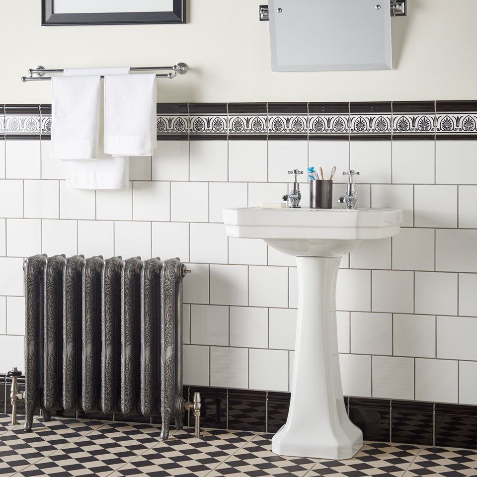 Image result for traditional bathrooms square tiles brick effect ...