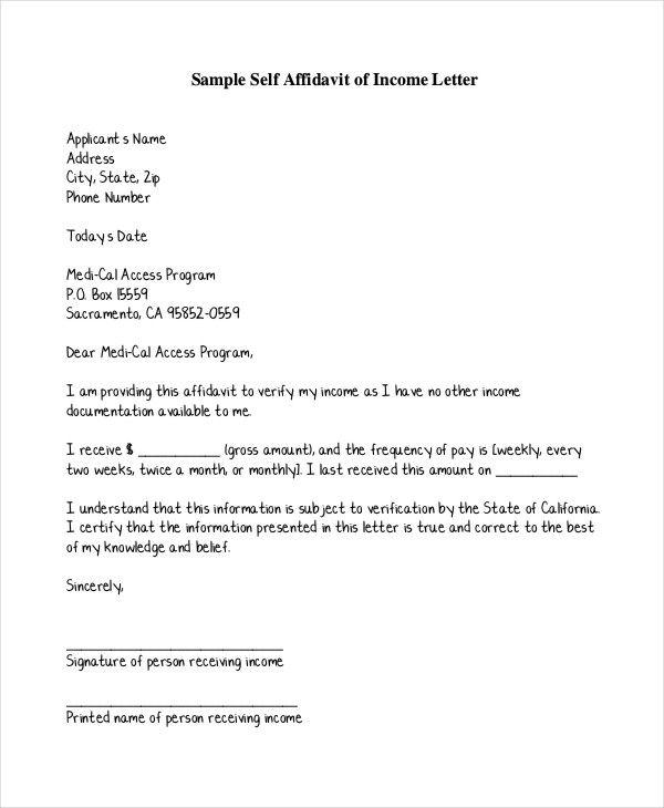 Resultado De Imagem Para Proof Of Income Letter  Carta Mp