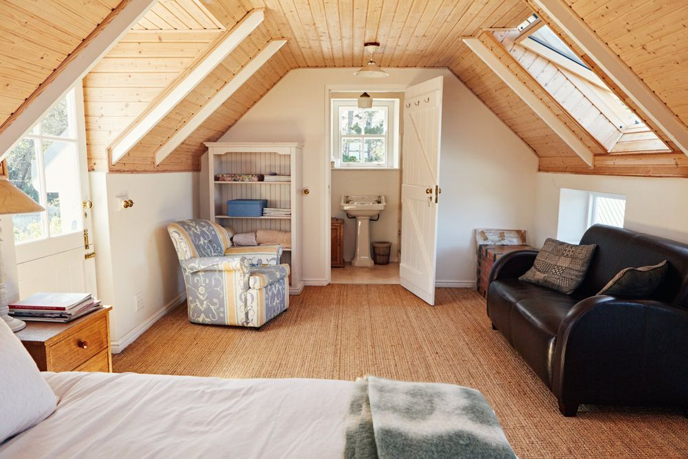 60 Attic Bedroom Ideas Many Designs With Skylights Attic Bedroom Ideas Angled Ceilings Attic Bedroom Attic Bedroom Designs