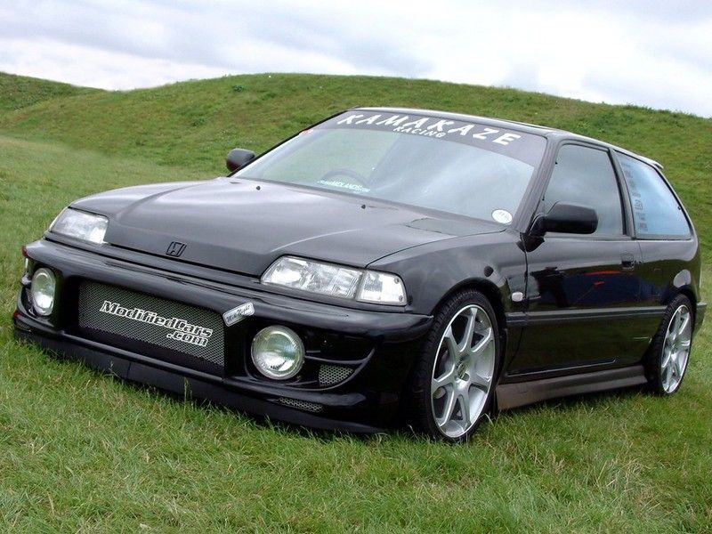 Album #4445 contains photo(s) of Modified Honda Civic hatchback ...