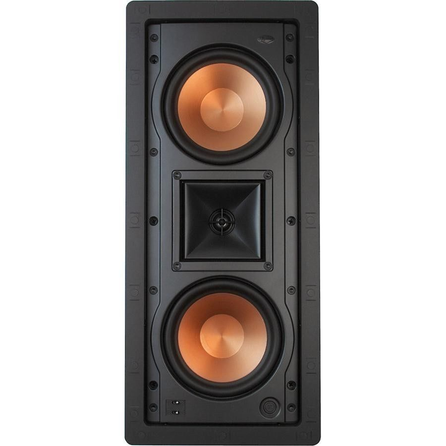 klipsch used speakers. home speakers and subwoofers: klipsch r-5502-wii in-wall lcr speaker used m