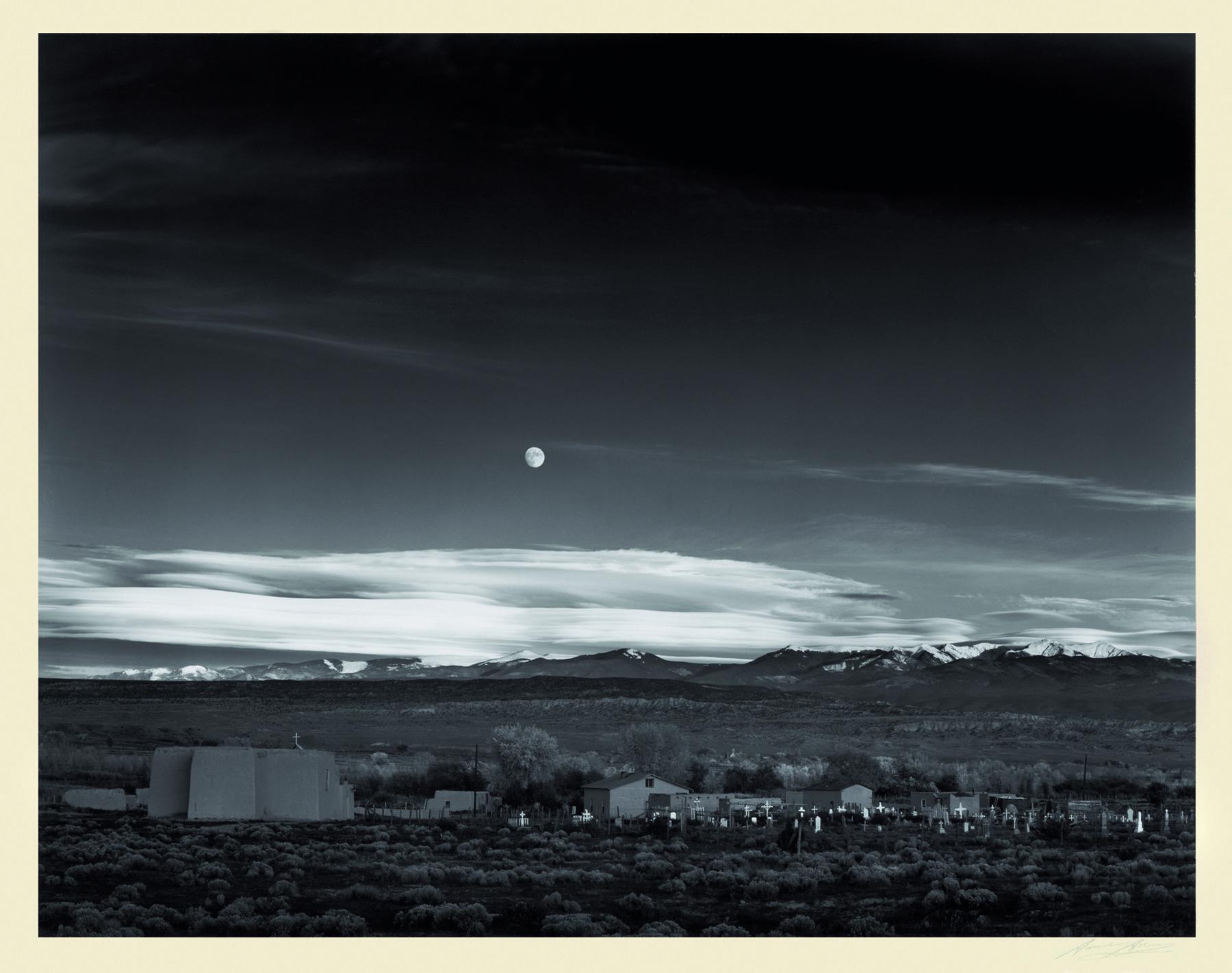 ansel adams moonrise hernandez new mexico