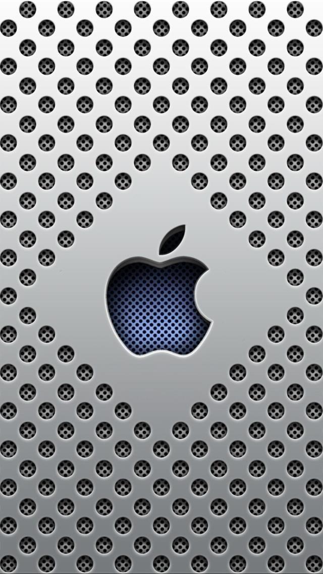 logo apple fonds d 39 cran pour un iphone 5 mobiles pinterest logo apple cran et iphone. Black Bedroom Furniture Sets. Home Design Ideas