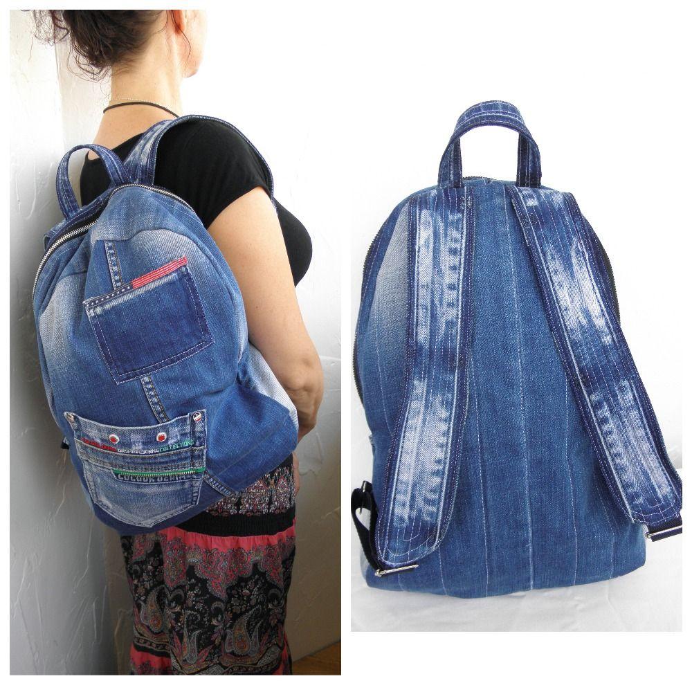 Denim Backpack fe996c8e57d38