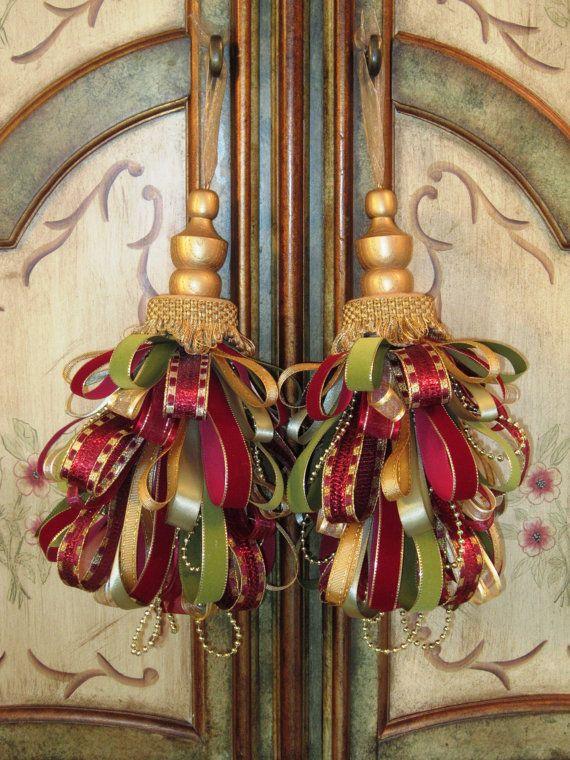 Victorian/Gold Decorative Tassel Set by Duvalls on Etsy, $47.00