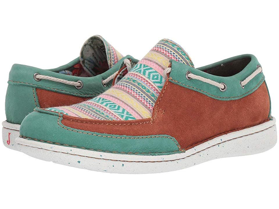 Justin Boatie Women's Shoes Turquoise