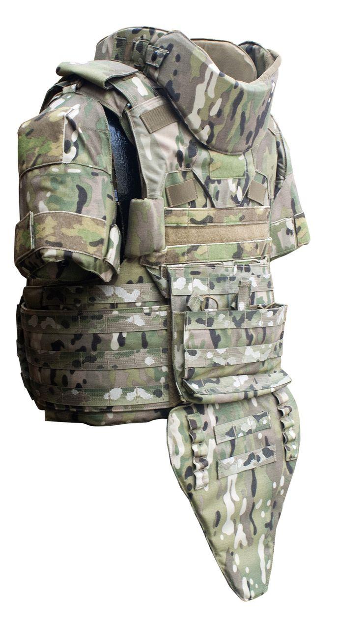 Paraclete Releaseable Modular Vest Body armor tactical