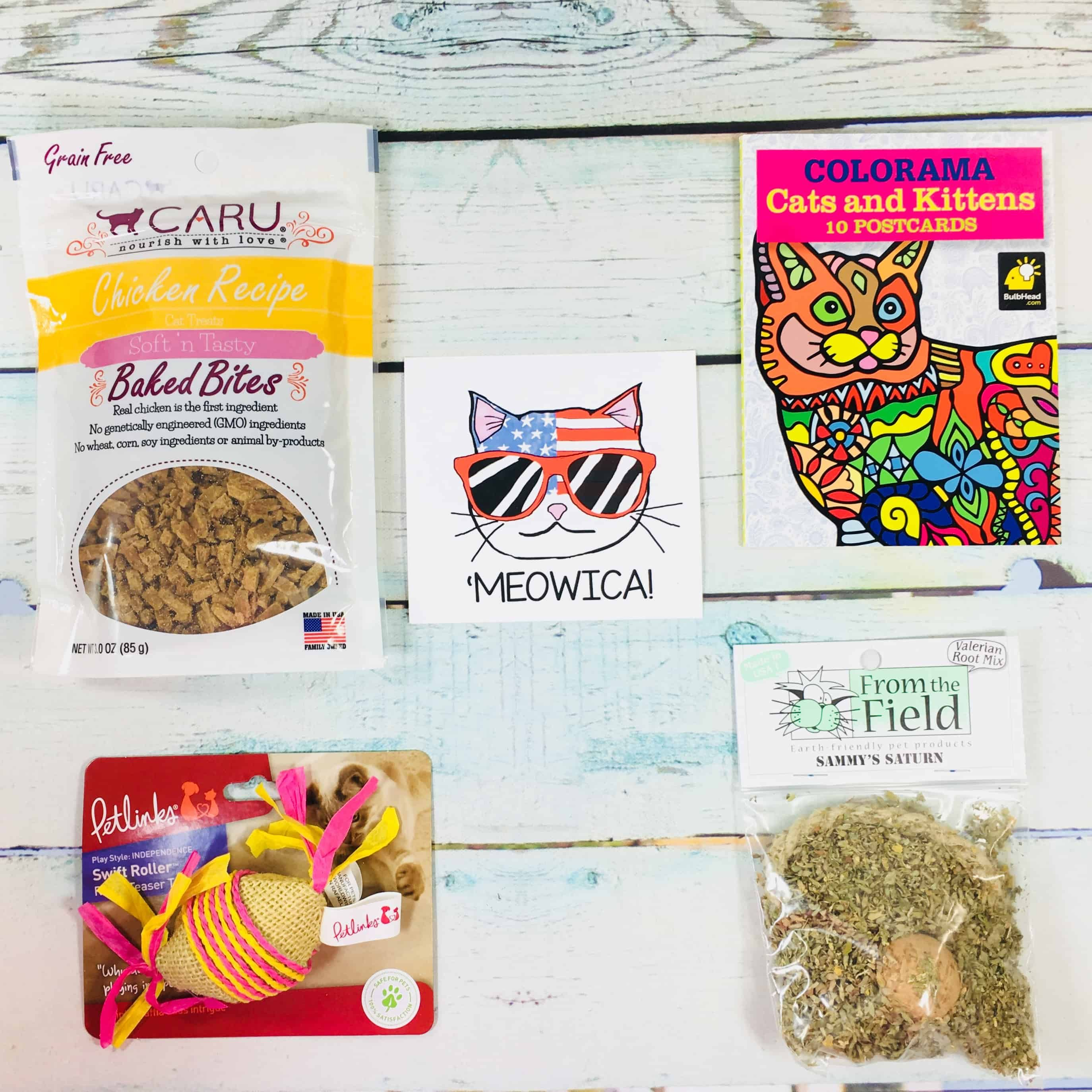 Pet Treater Cat Pack Subscription boxes, Pets, Cat toys