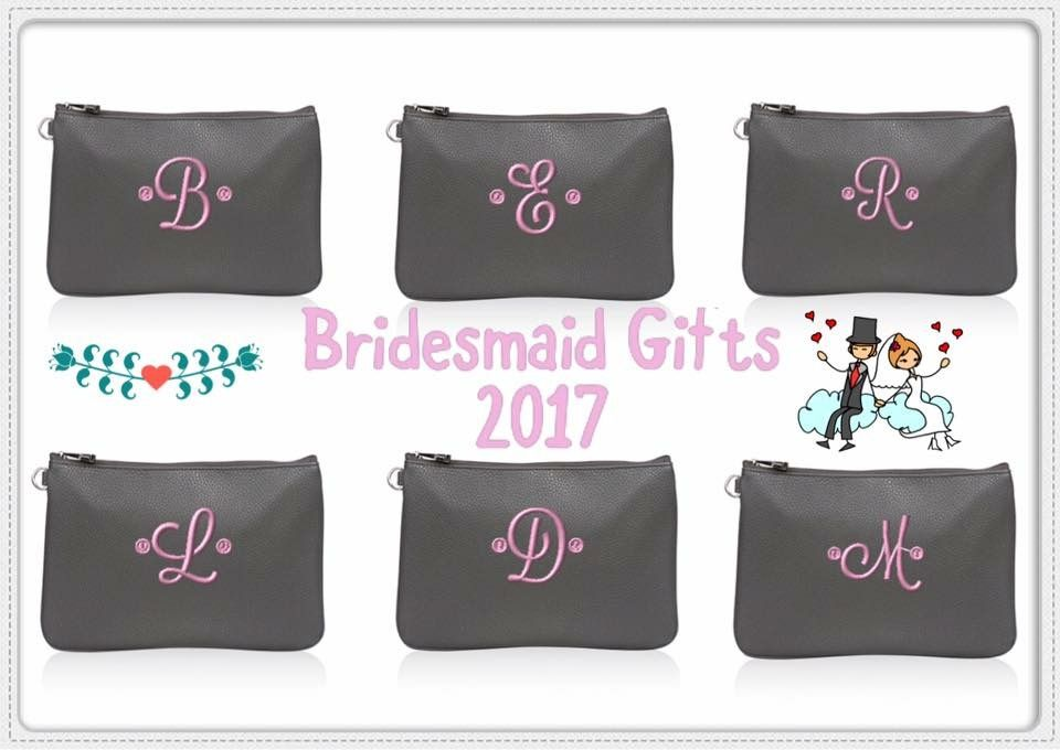 Personalized Bridesmaid Gifts Useful On Wedding Day And A Perfect Gift For Use After