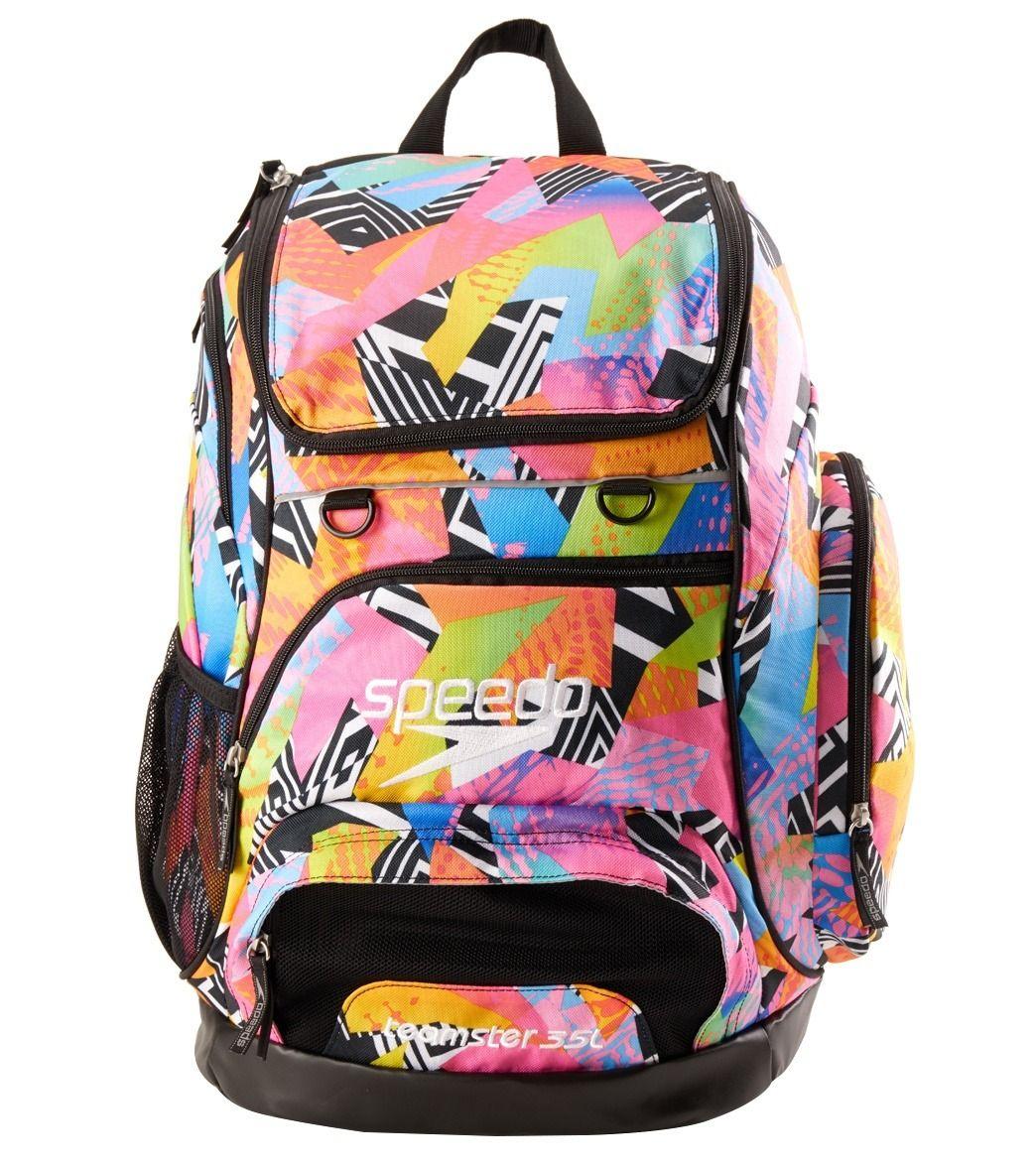 Swim Gear Bag: Speedo Large 35L Teamster Backpack At SwimOutlet.com