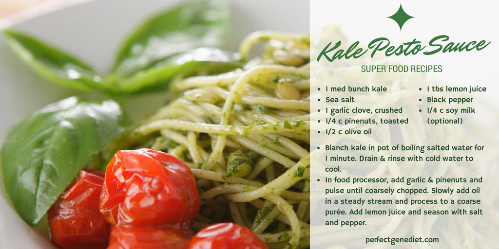 Kale Pesto Sauce - Vegan, Dairy Free