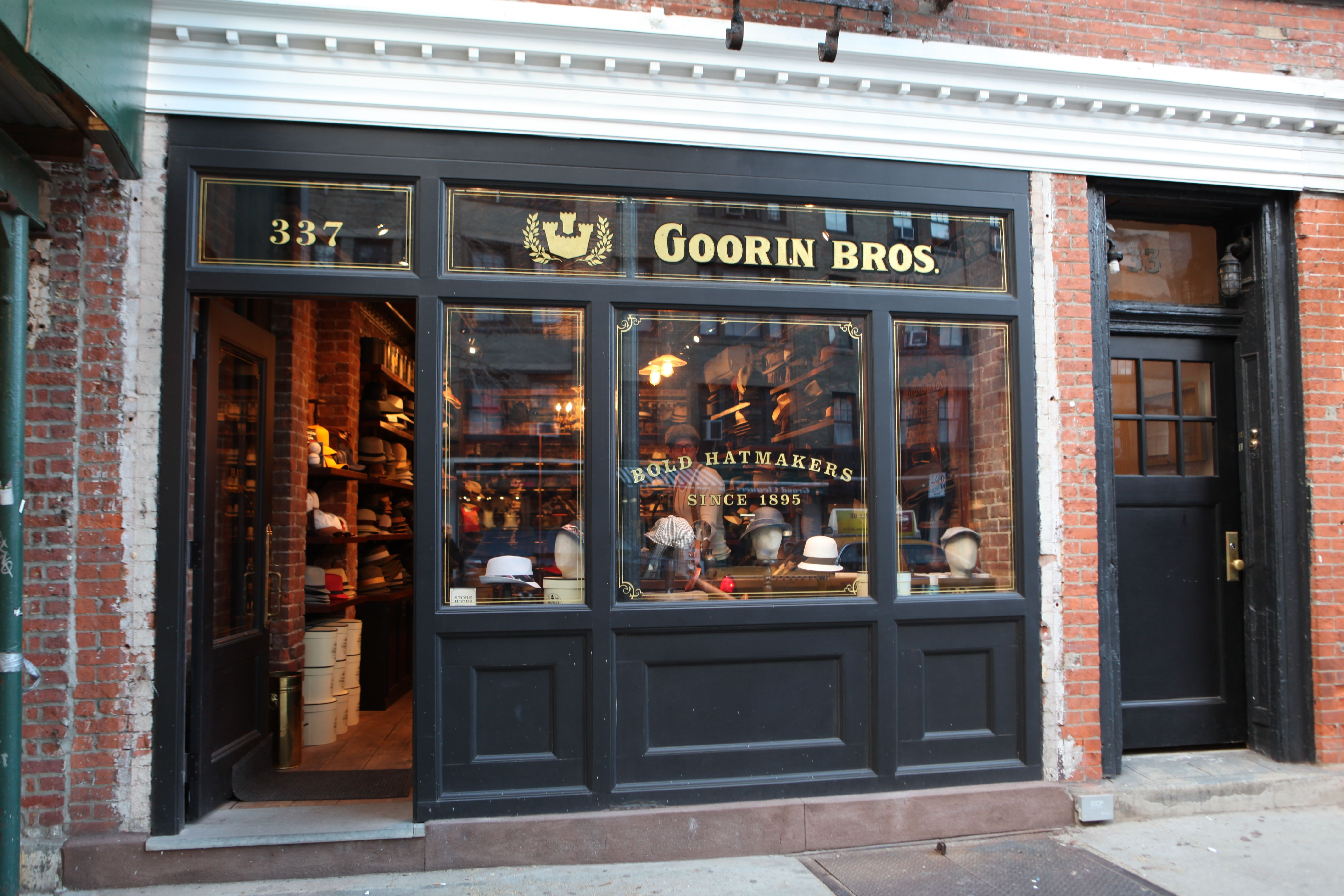 Goorin Brothers Headed By Ben Goorin Are Setting Up A Second Shop On Magazine Street After The Initial Success Of Their Frenc Goorin Bleecker Street New Shop