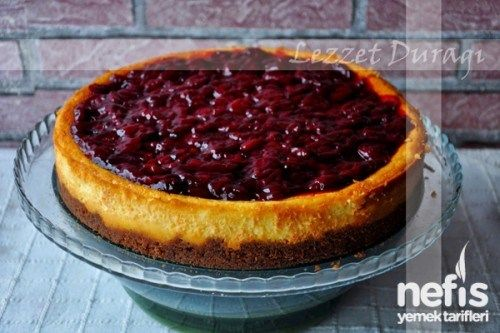 Photo of Pınar Labneli Cherry Cheesecake – Delicious Recipes