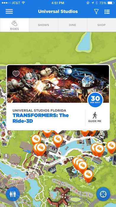 The Official Universal Orlando Resort App By Nbcuniversal Media