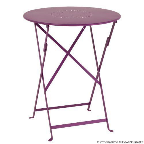 Superbe 24 Inch Bistro Table And 24 Inch Floreal Perforated Table