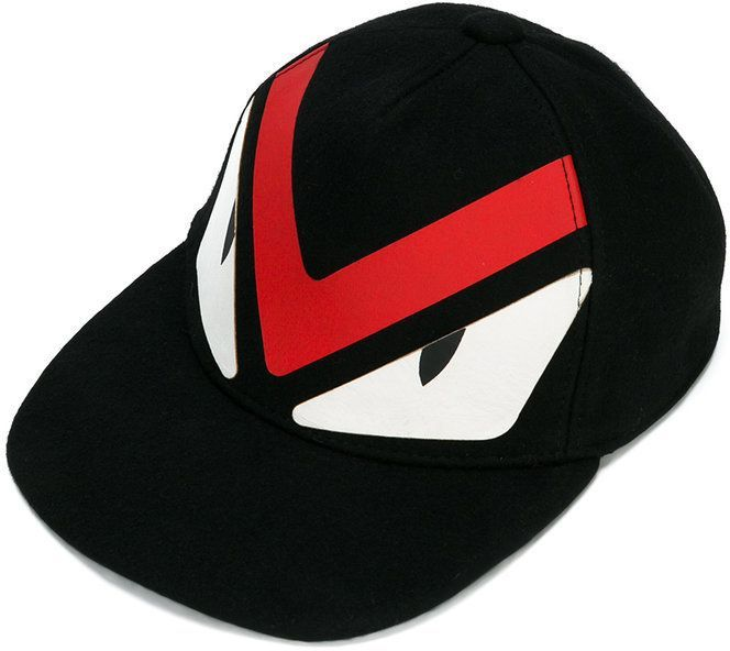 Fendi Monster Eyes baseball cap | Products | Monster eyes, Fendi
