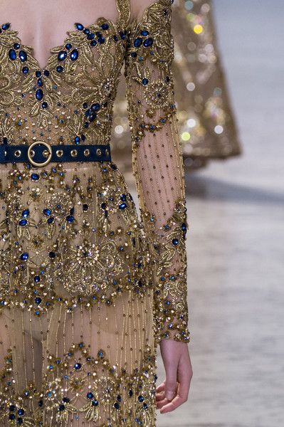 Victoria Kosenkova for Elie Saab SS17 Haute Couture