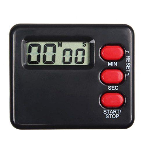 Bestpriceam Kitchen Clock Timer 99 Minute Digital LCD Sport