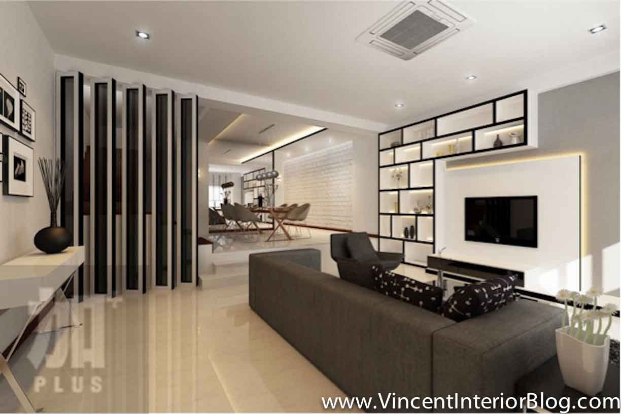Partition Ideas Modern Style Living Modern Style Living Room Partitions