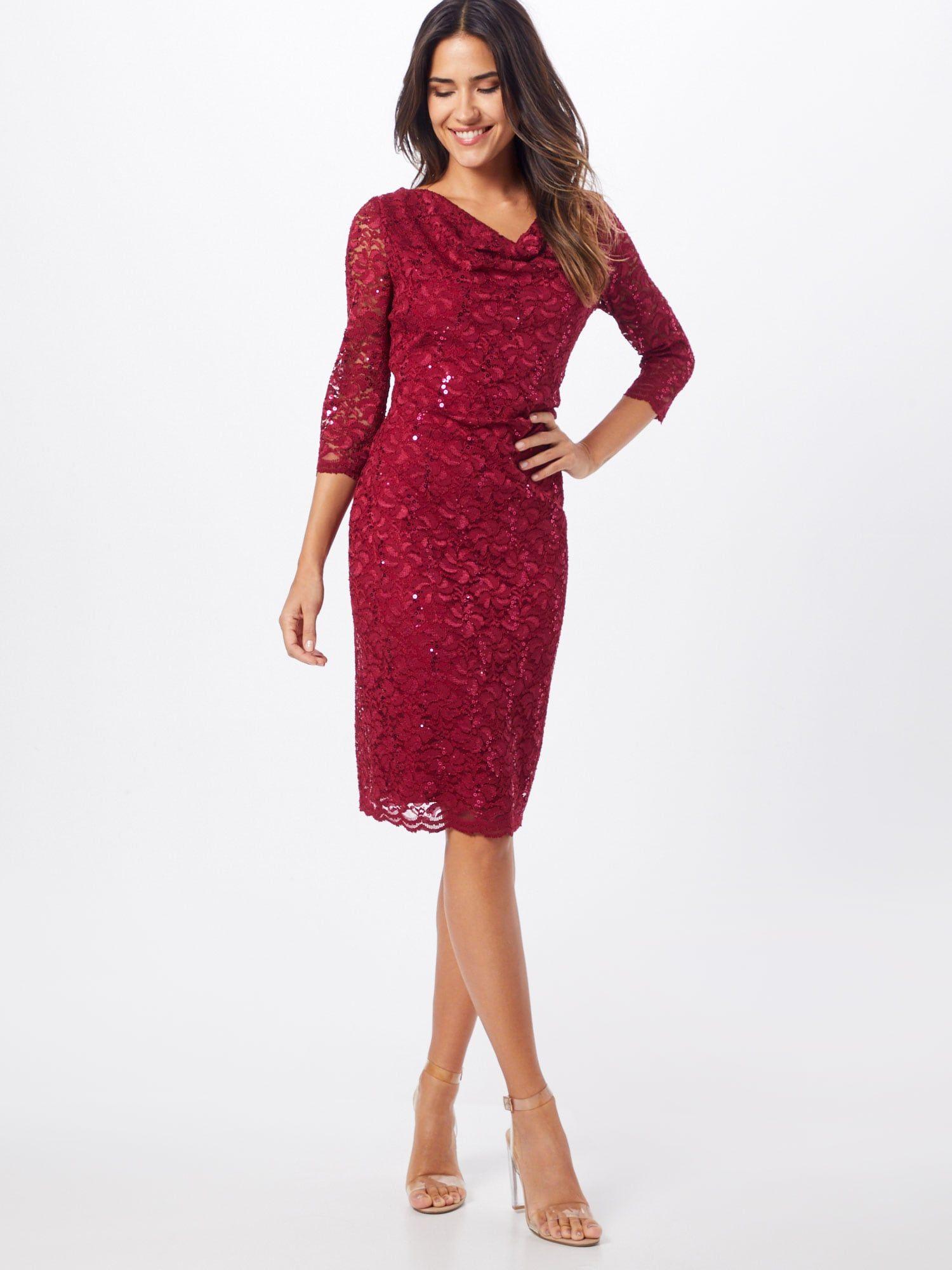 Vera Mont Kleid Damen, Rot, Größe 15  Kleider, Vera mont und