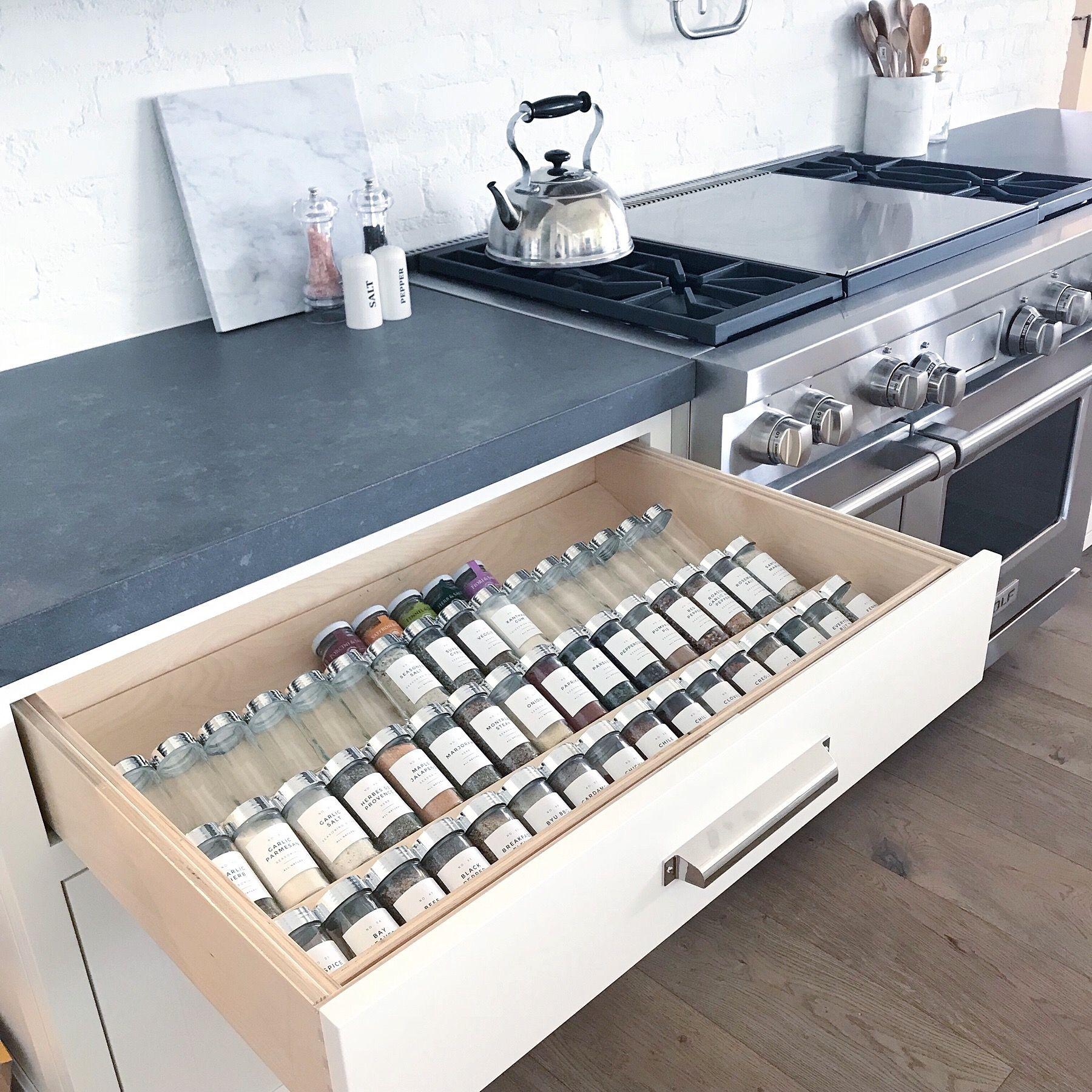 Neat Method Luxury Home Organizing Hidden Kitchen Kitchen Storage Space Kitchen Storage
