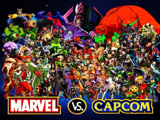 Capcom Background Hd Marvel Vs Capcom Marvel Vs Capcom