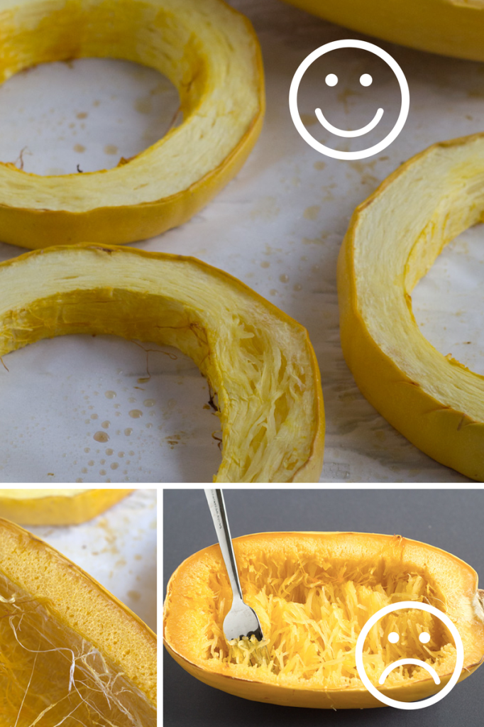 How To Cook Spaghetti Squash That Actually Looks Like Spaghetti Http Www Eatwithinyourmeans Com Recipes Food Squash Recipes