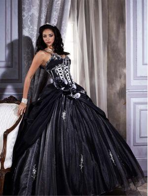 Robe De Mariee Gothique