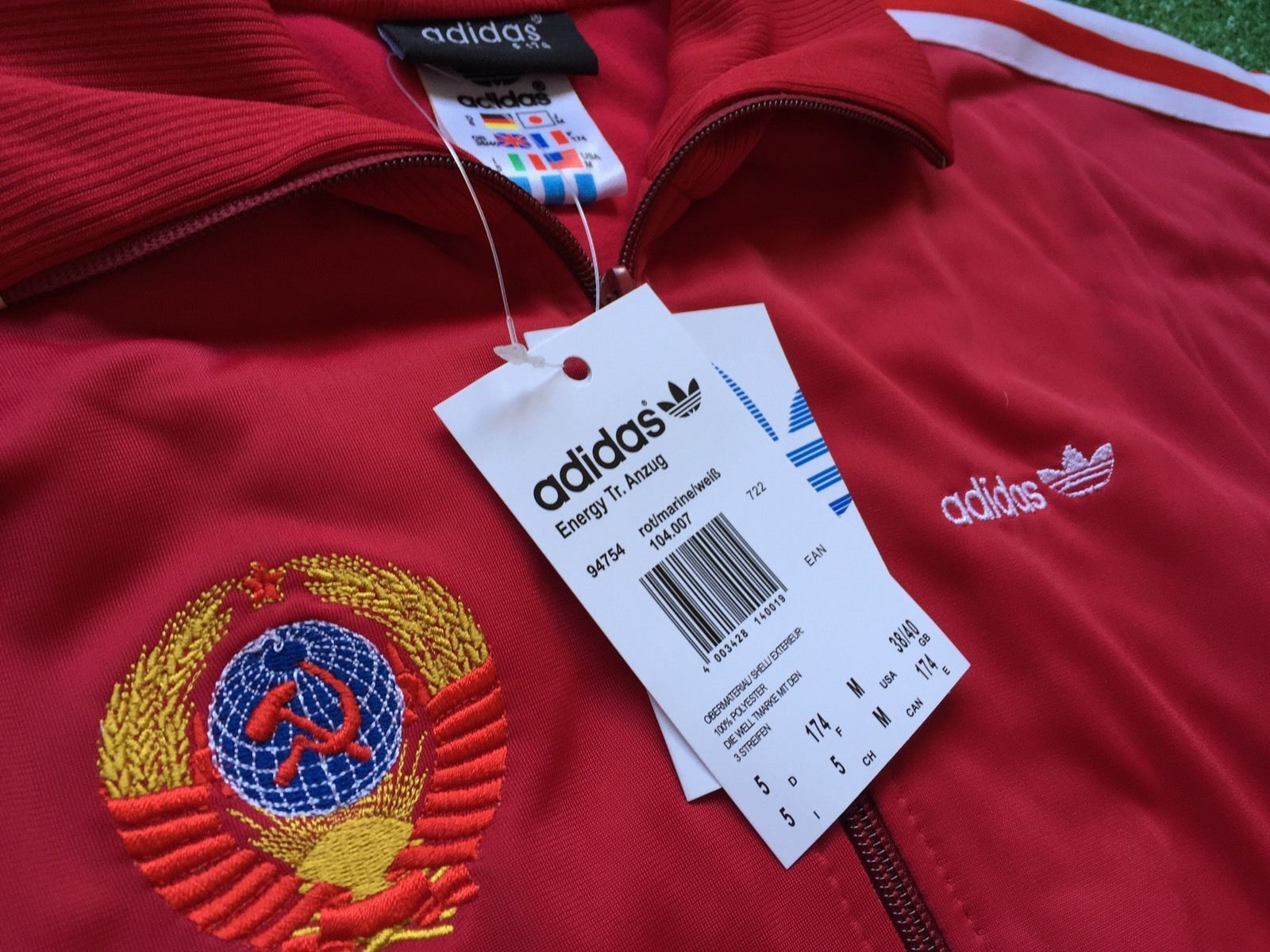 ADIDAS W.Germany VTG tracksuit MOSCOW80 Pants and jackets USSR OLYMPIAD80 dac56bd8f45
