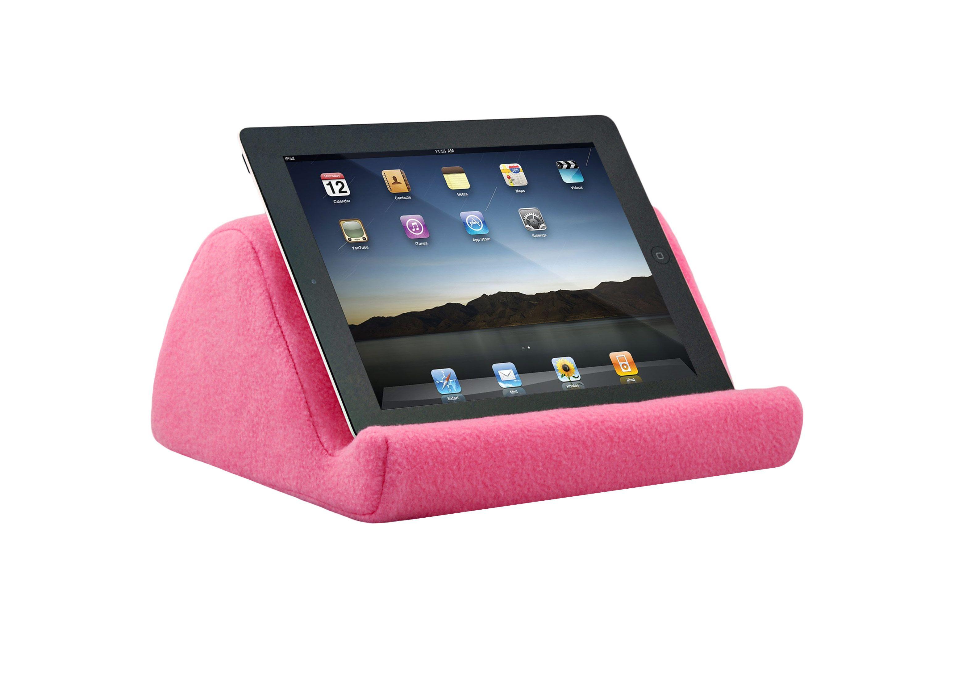 Ipad Stands For Bed read ipad in bed | pink fleece ipad cushion | ipad pillow