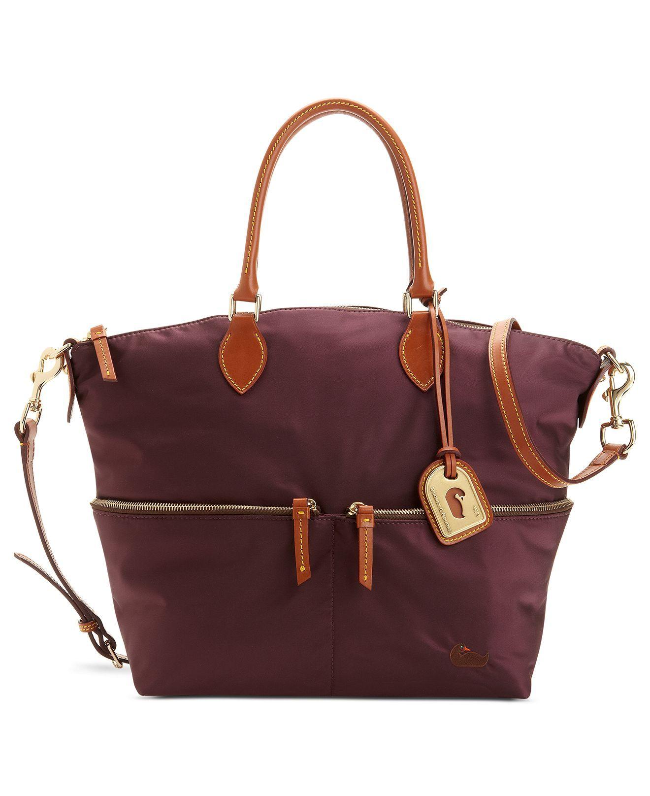 Dooney Bourke Handbag Nylon Vanessa Bag Handbags Accessories Macy S