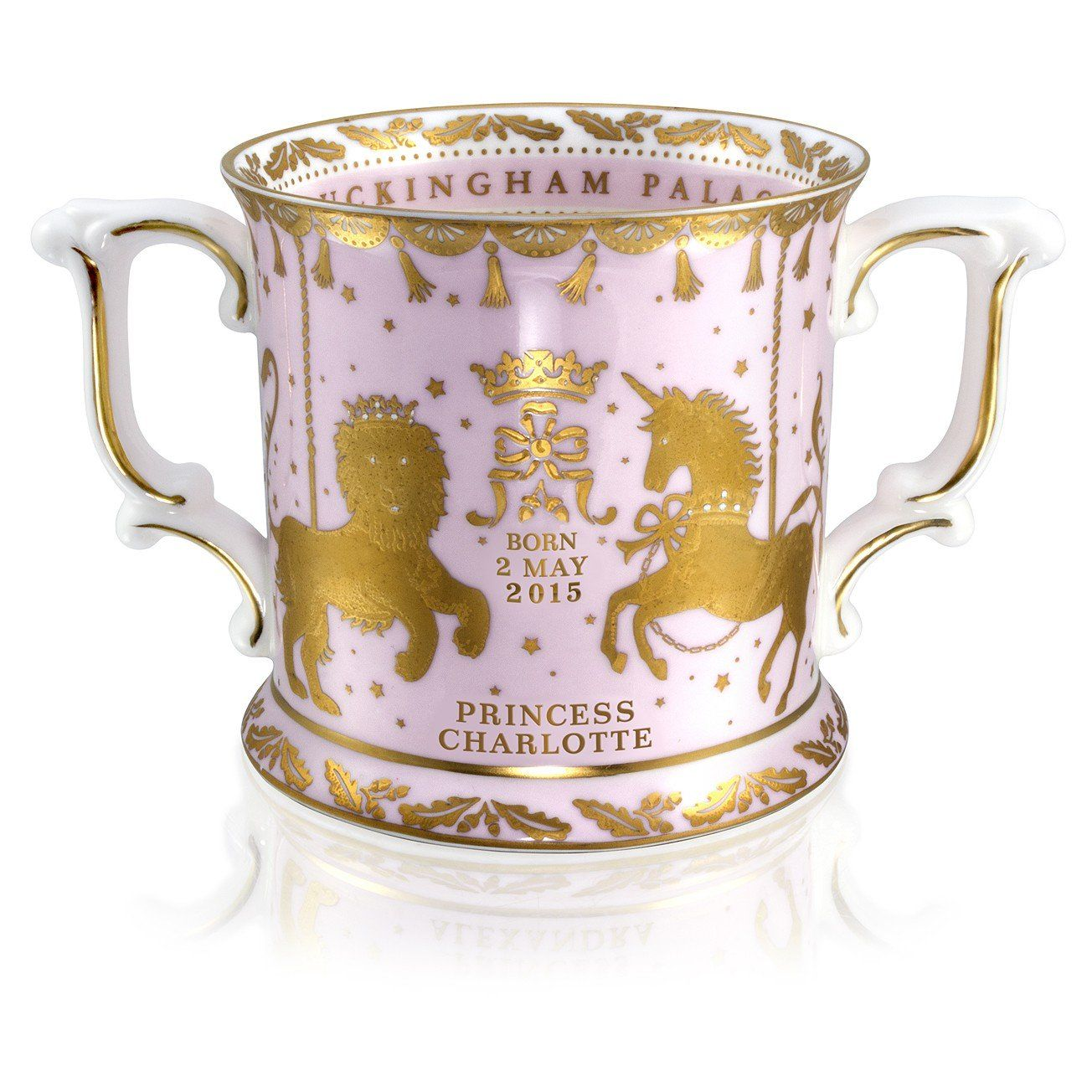 Limited Edition Royal Baby Loving Cup Royal Collection