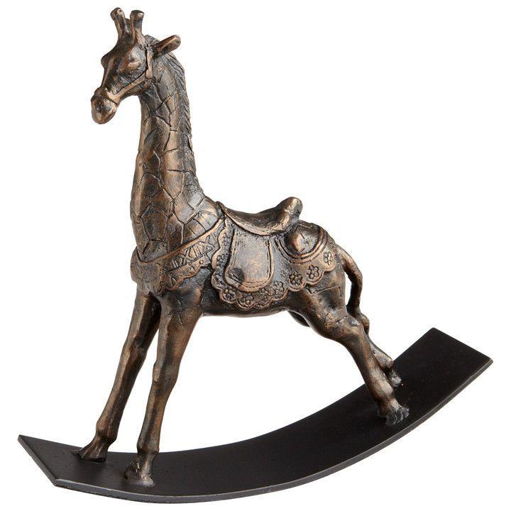 Rocking Giraffe Sculpture