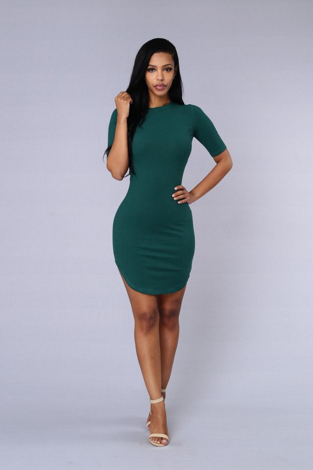 Campbell Dress - Green