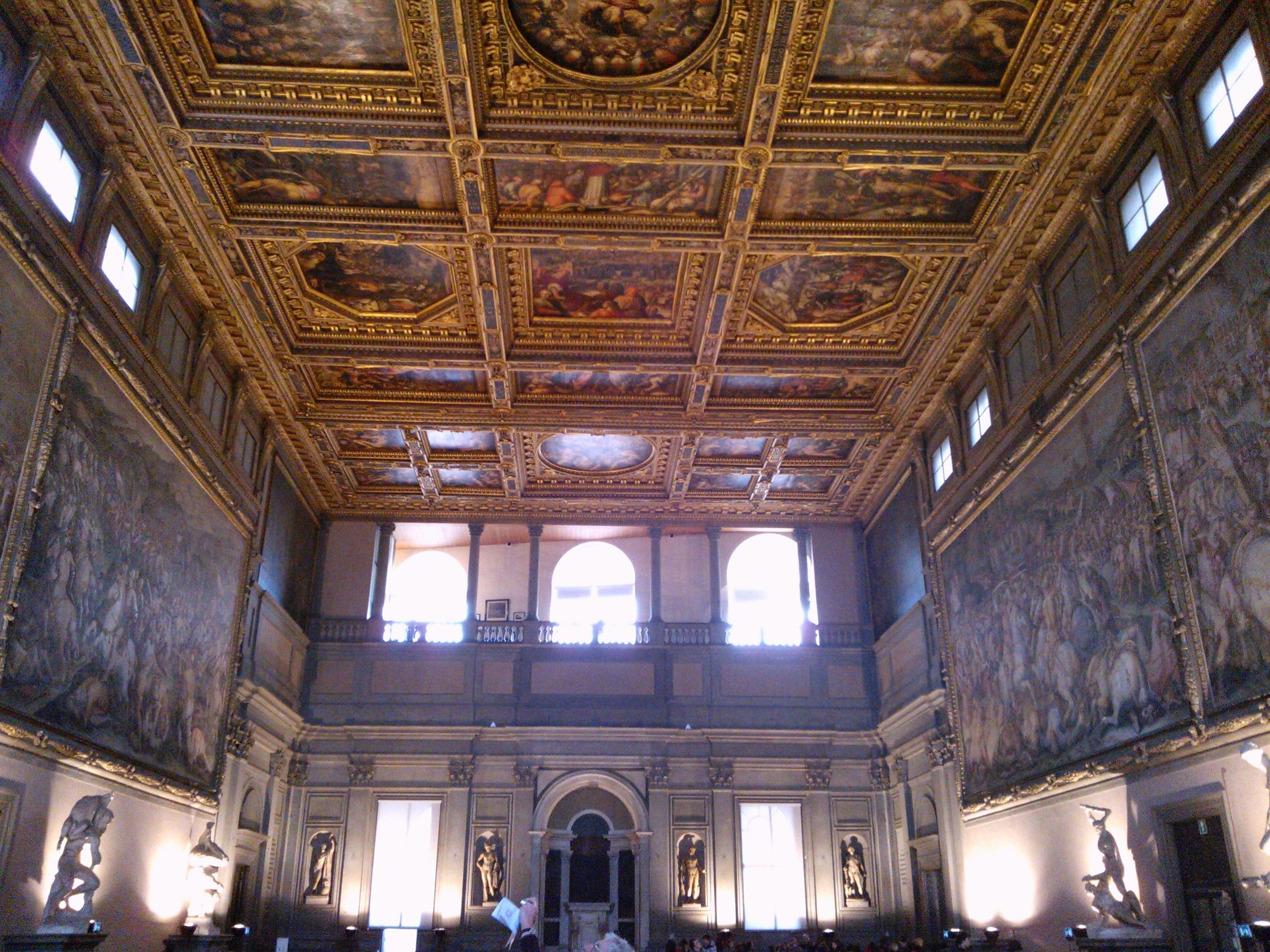 Palazzo Vecchio Sala Dei 500.Sala Dei 500 Palazzo Vecchio Firenze Italy Beautiful