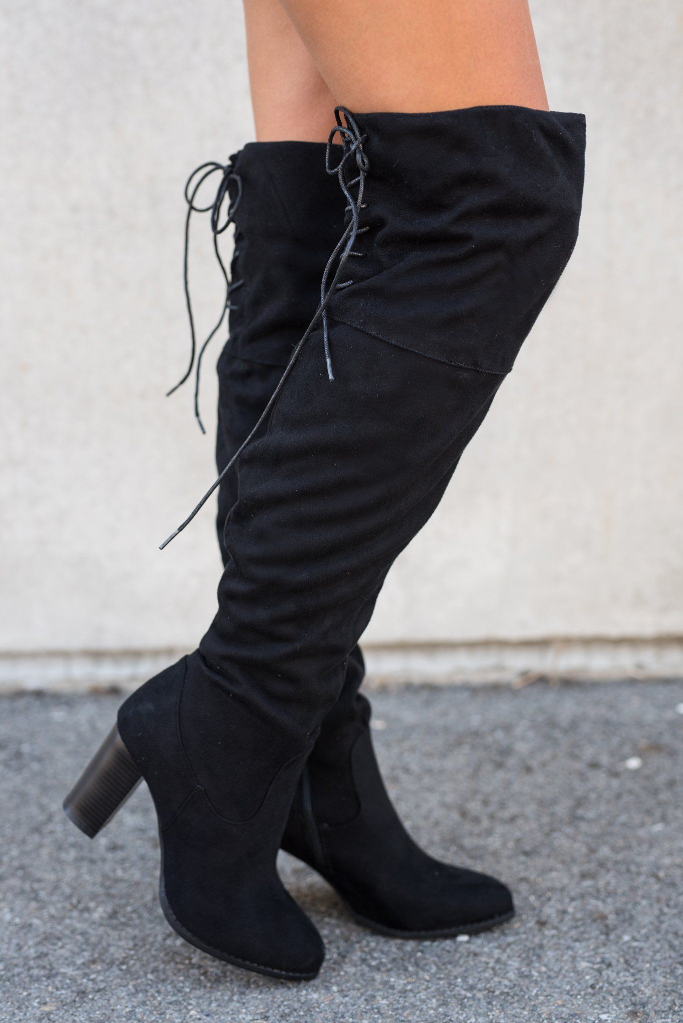 City Classic Thigh High Boot (Black) (With images) | Black boots