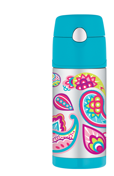 Thermos Funtainer  Awesome for the kids  Put a few icecubes